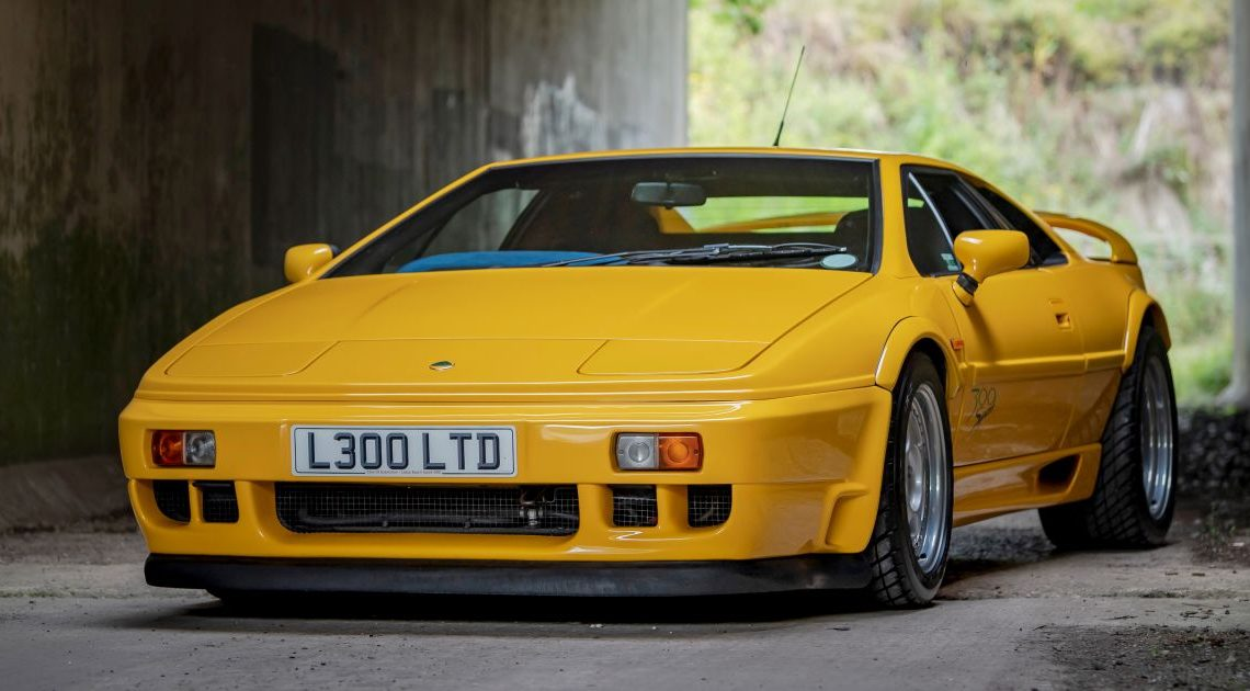 Lotus Esprit: six rare examples headed for the auction – paultan.org