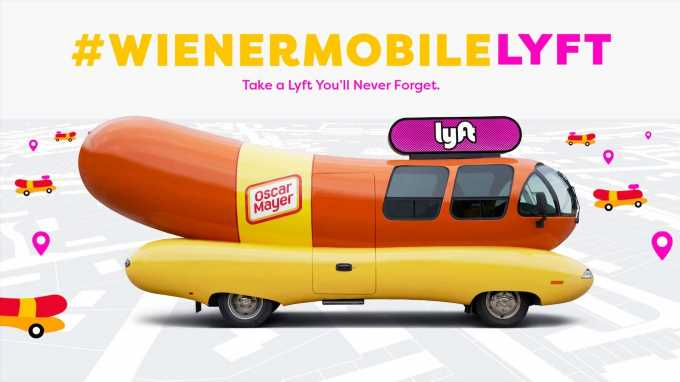 Lyft Lets You Hail the Oscar Mayer Wienermobile for a Ride