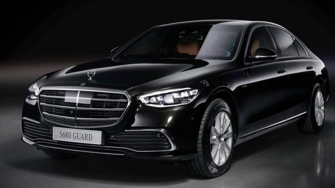 Mercedes-Benz S680 Guard Is the V12 Sedan of Presidents