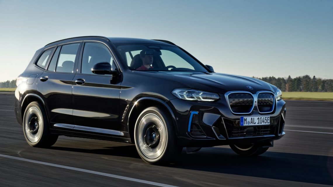 New BMW iX3 2021 facelift brings fresh styling and M Sport trim