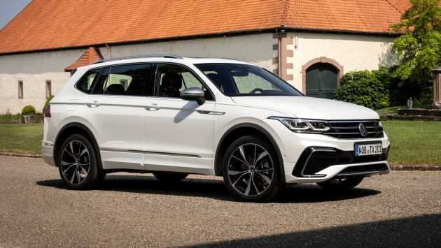 New Volkswagen Tiguan Allspace facelift on sale now from £32,135