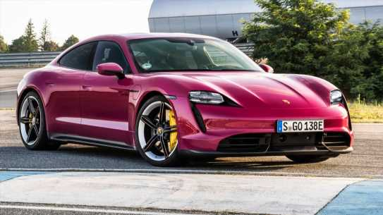 Paint Your 2022 Porsche Taycan Any Color You Like