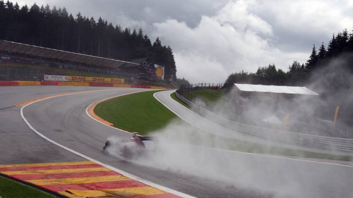 Rain is forecast for all three days at Belgian Grand Prix   Planet F1