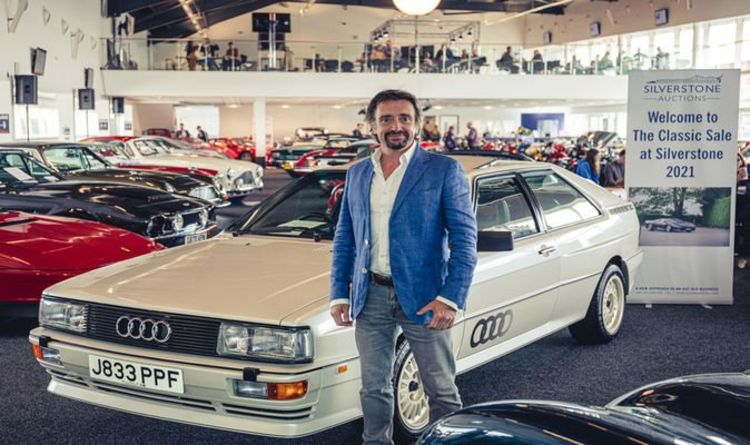 Richard Hammond sells classic cars for £230,000 in auction to raise money for new business