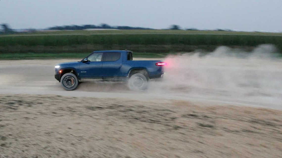 Rivian Takes Earliest Preorder Holders For R1T Test Drives
