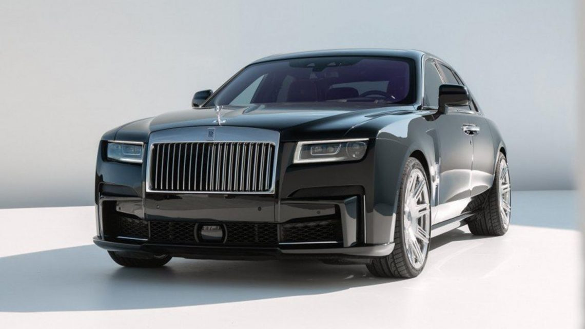 Rolls-Royce Ghost boosted to 685hp by Novitec