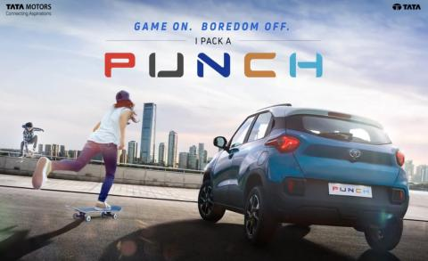 Tata Punch revealed in new teaser video