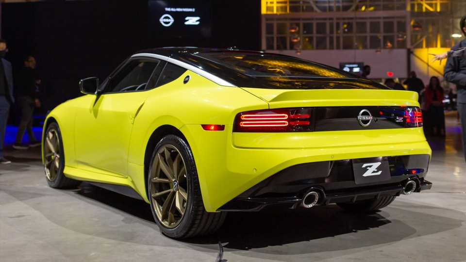The Nissan Z Looks Almost Exactly Like the Prototype. Here's What Changed