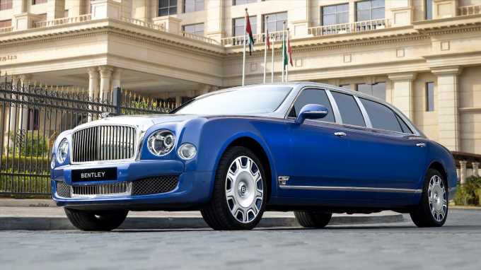 This Massive Bentley Mulsanne Limo Should Ensure You Command Maximum Attention
