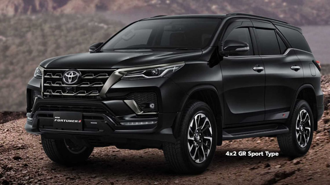 Toyota Fortuner GR Sport Debuts As Body-On-Frame, Rear-Wheel-Drive SUV