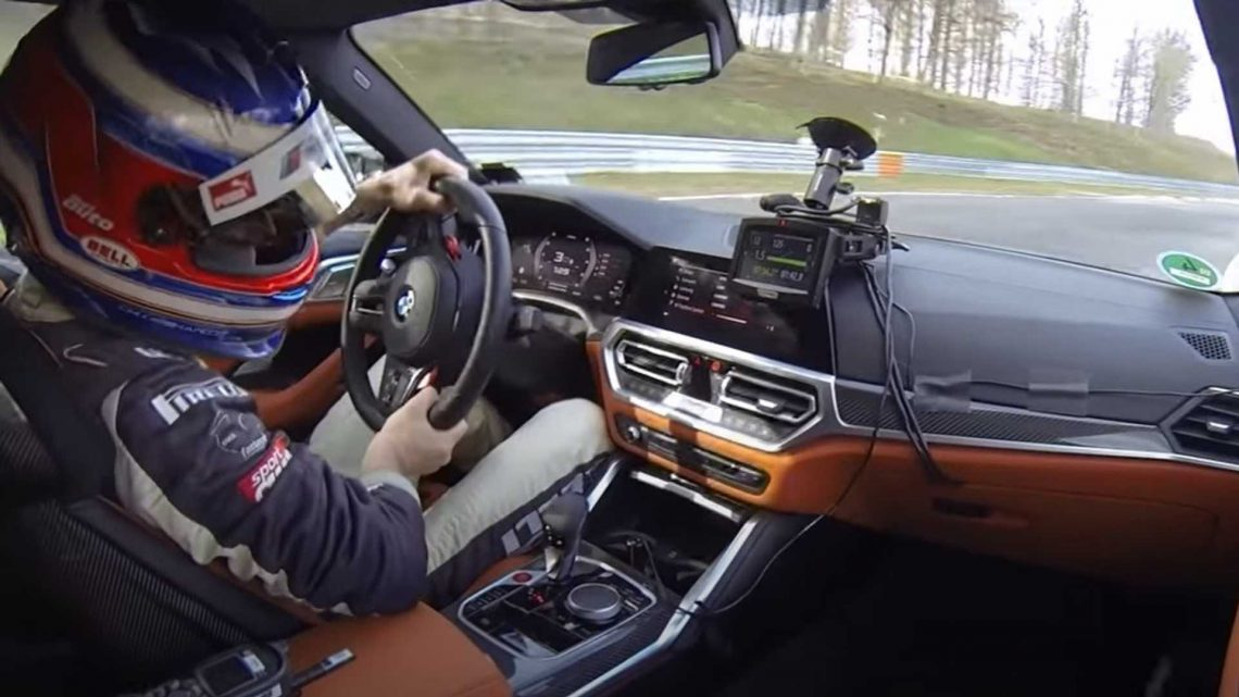 Watch 2021 BMW M4 Competition Lap The Nurburgring In 7:30 Minutes