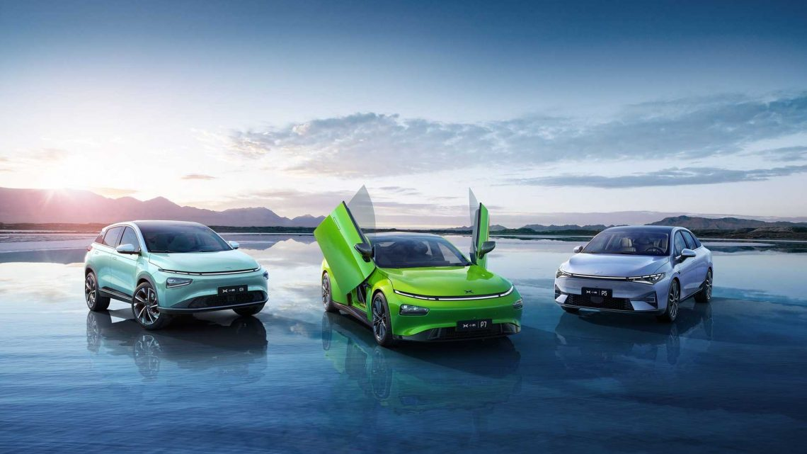 Xpeng Electric Car Sales Hit New Record In July 2021