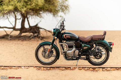 2021 Royal Enfield Classic 350 launched at Rs. 1.84 lakh