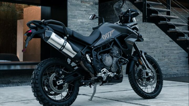 2021 Triumph Tiger 900 Bond Edition, only 250 to be made – There's simply No Time To Die, Mr Bond – paultan.org