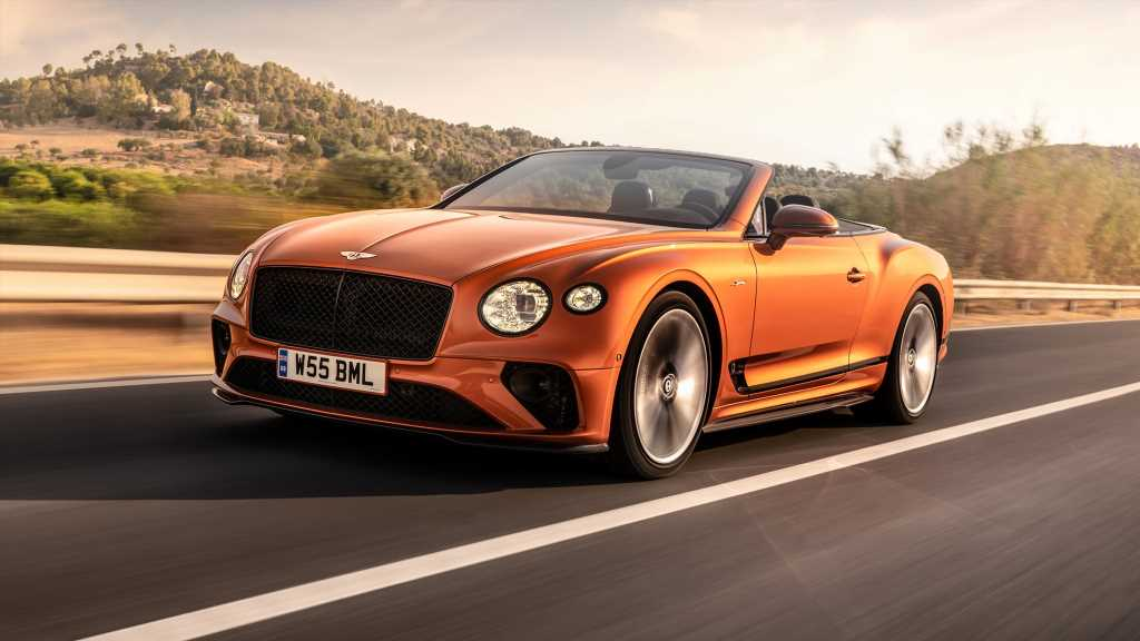 2022 Bentley Continental GT Speed Convertible First Drive Review