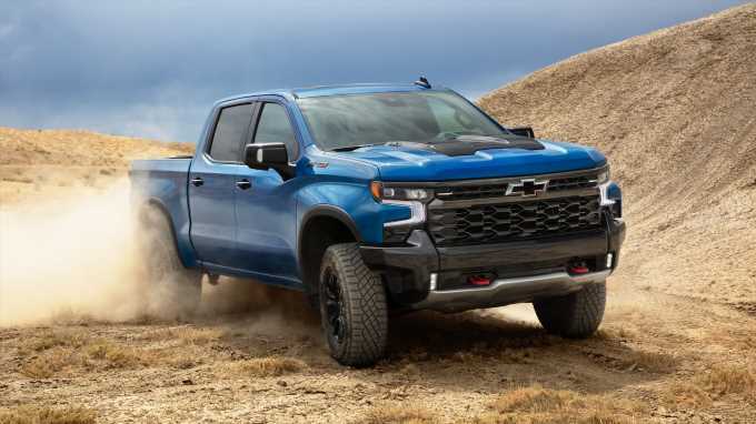 2022 Chevrolet Silverado ZR2 First Look: Rugged and Ready