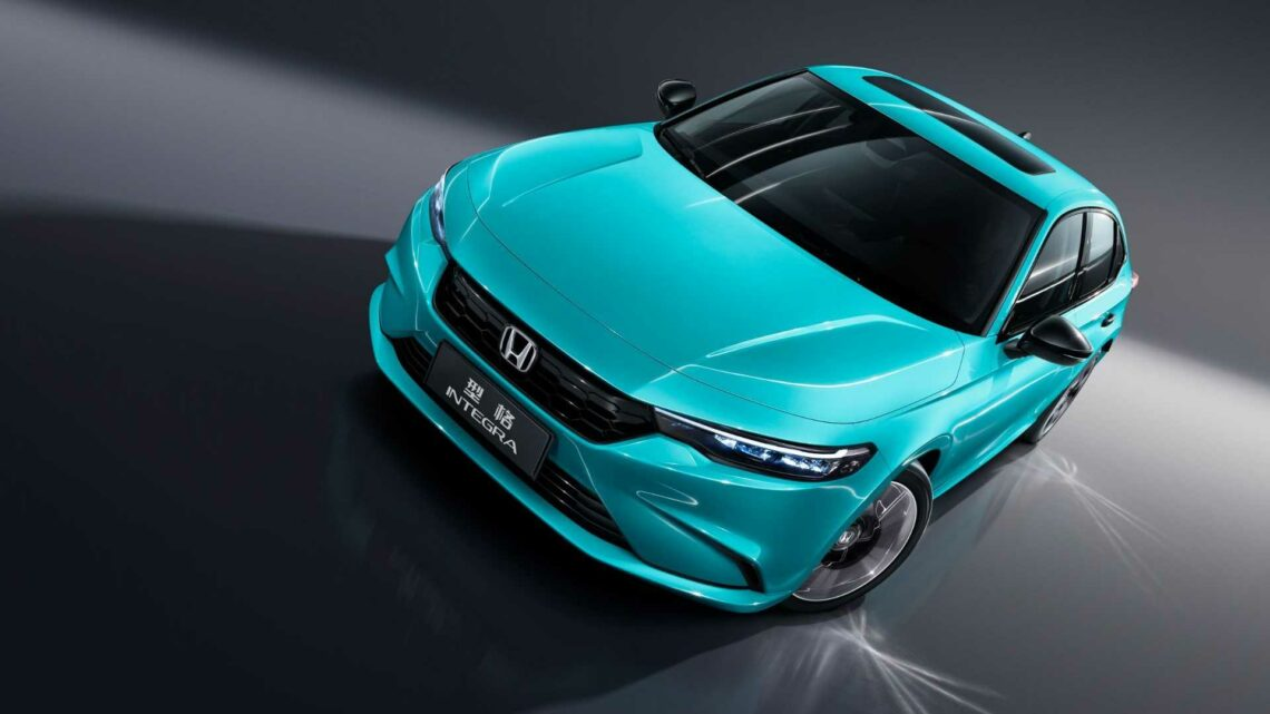 2022 Honda Integra Launched In China As Sportier-Looking Civic