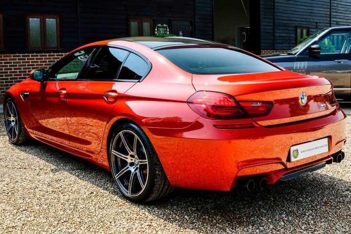 BMW M6 Gran Coupe Competition   Spotted