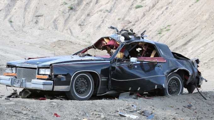 Blowing Up the Bombproof 1981 Cadillac Eldorado Biarritz on Motor MythBusters!