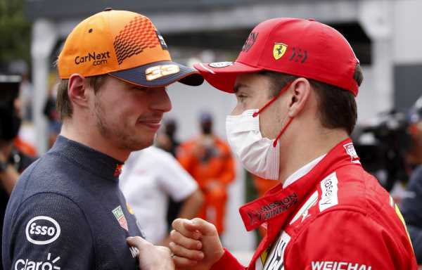 Charles Leclerc intends on using Max to 'overtake cars'