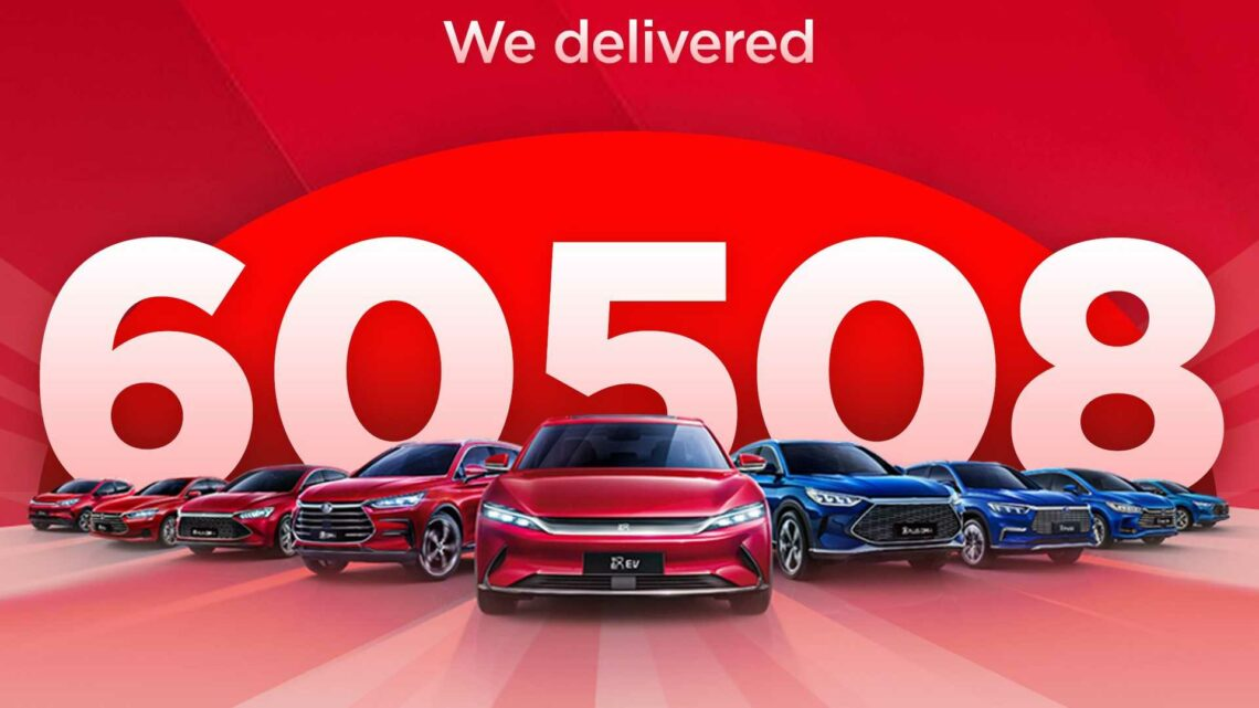 China: BYD Plug-In Car Sales Surge To Over 60,000 In August 2021