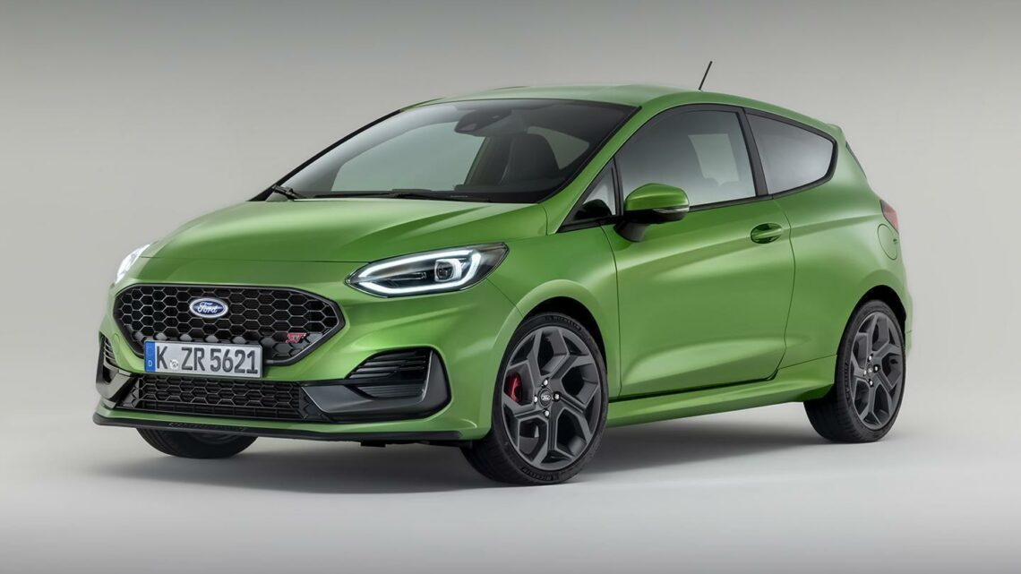Ford reveals updated Fiesta ST for 2022