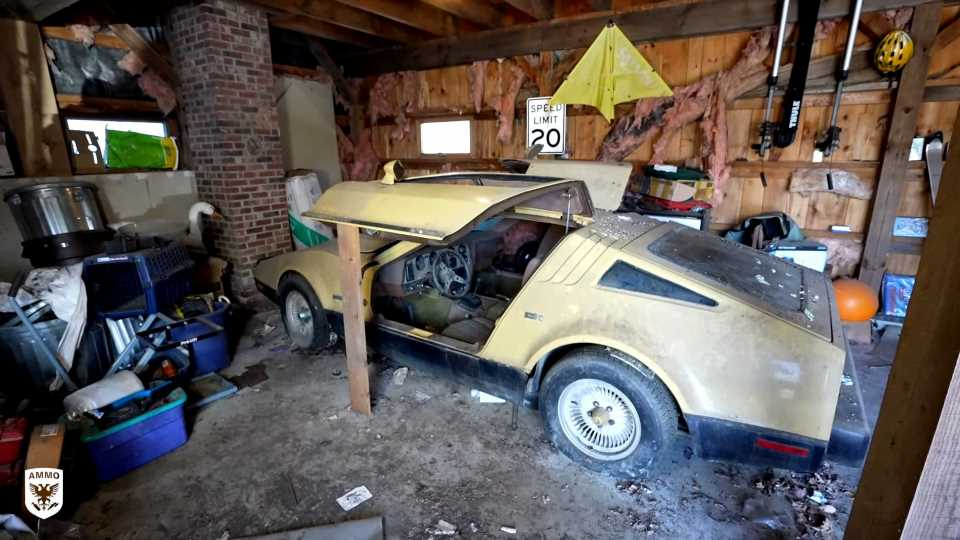 Here's What It Takes To Clean 24 Years of Filth off a Bricklin SV-1
