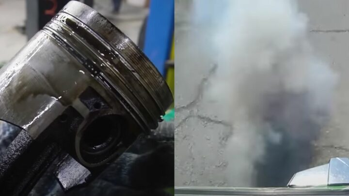 Here's How Much Oil A Car Burns Through With No Valve Seals Or Oil Rings