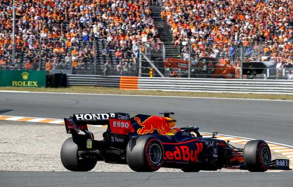Max called to stewards for alleged red flag infringement