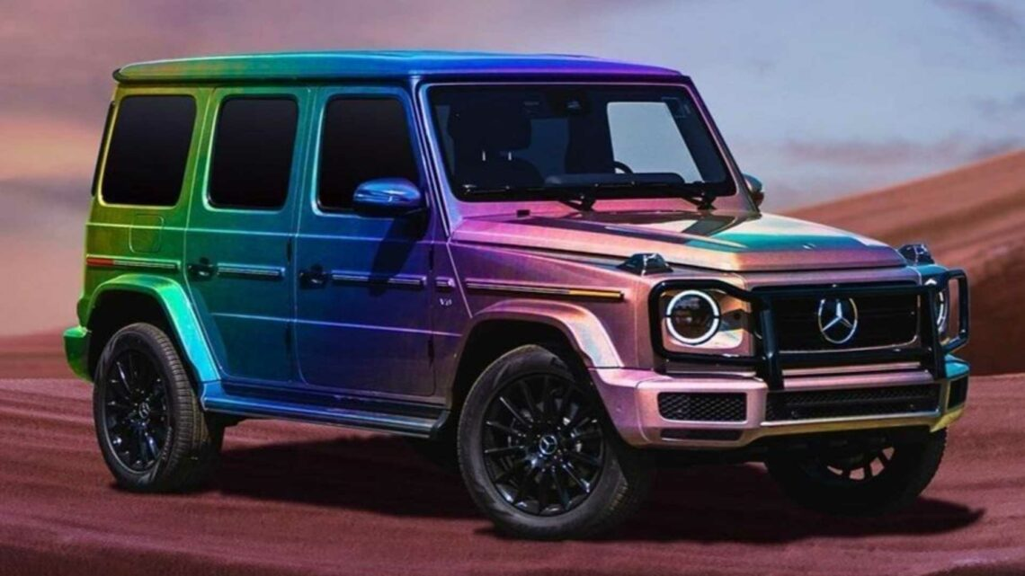Mercedes Celebrates LGBTQ Pride With Rainbow-Colored G-Class