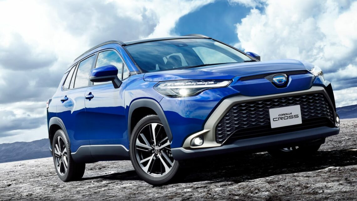 New 2022 Toyota Corolla Cross launched in Japan