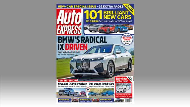 New BMW iX driven in this week's issue of Auto Express