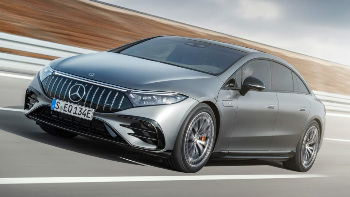 New Mercedes-AMG EQS 53 surges in with 751bhp