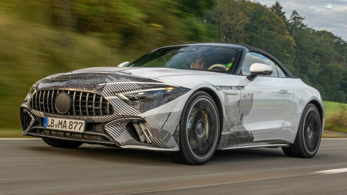 New Mercedes SL ride review