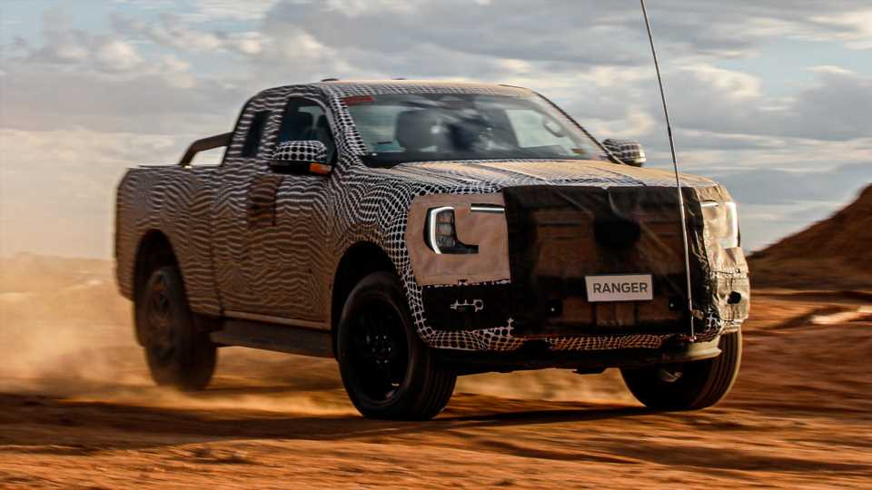 Next-Gen Ford Ranger Pickup: Here's Your First Official Look