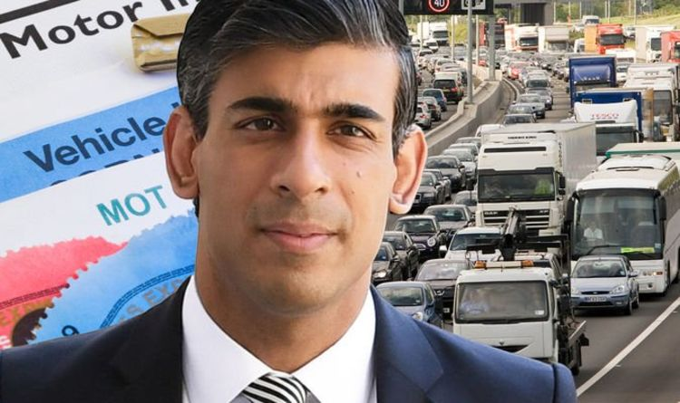 Rishi Sunak could be under 'pressure' to introduce major new car tax changes