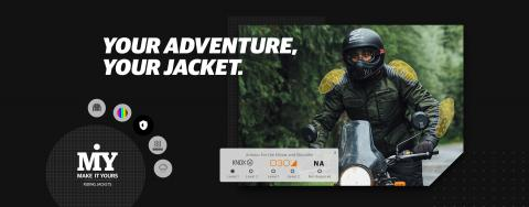 Royal Enfield now offers custom riding jackets