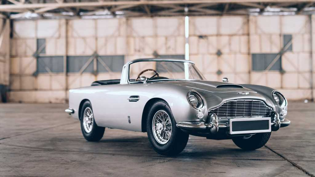 """Say Hello to the Aston Martin DB5 Junior """"No Time To Die"""" Edition"""