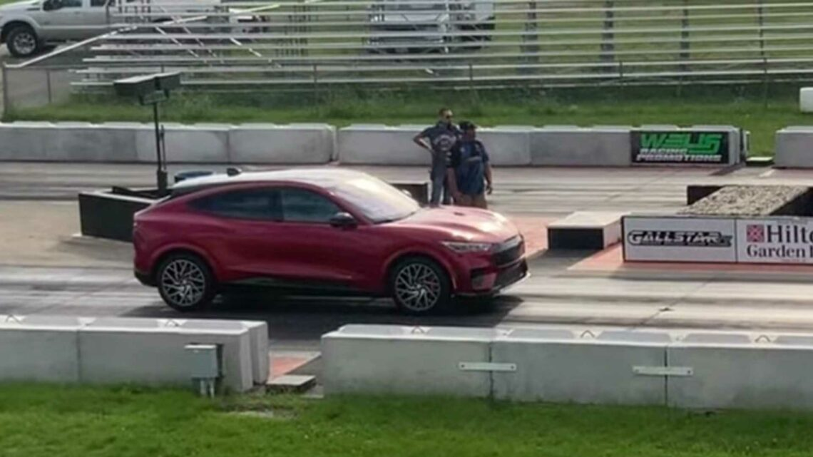 See What Ford Mustang Mach-E GT Performance Puts Down In Quarter-Mile