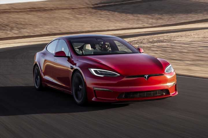 Tesla Model S Plaid sets official 'ring record