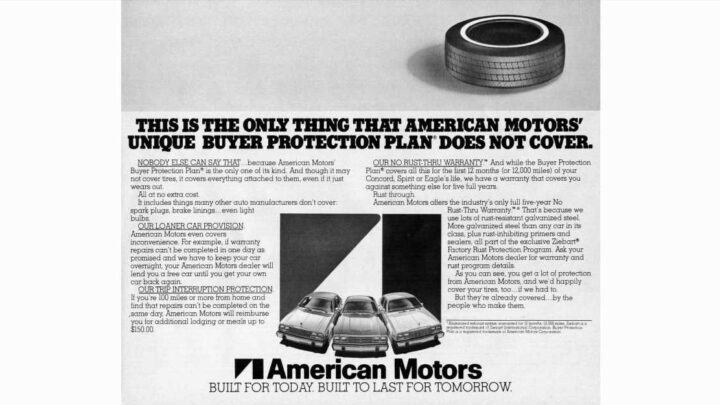The 1980 AMCs Have a Mighty Warranty