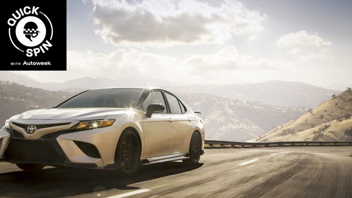 The 2021 Toyota Camry TRD Makes Normcore Extreme