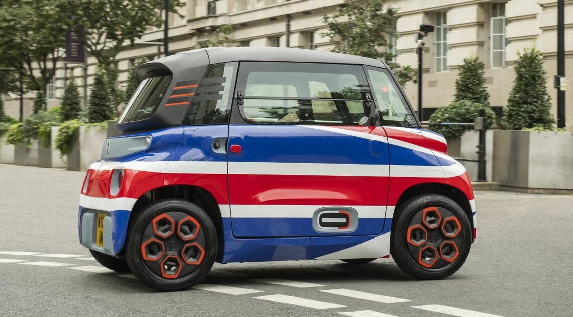 The Tiny Citroen Ami Is Coming To The UK, But You'll Need A Proper License To Drive It