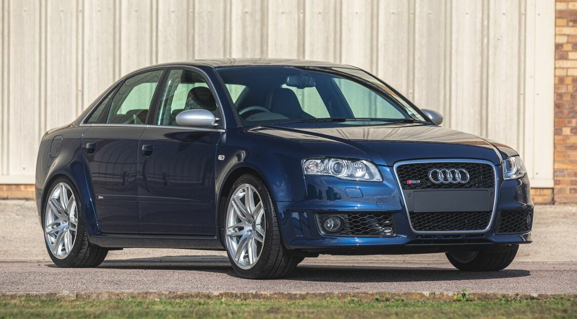 This B7 Audi RS4 Has Covered Just 217 Miles, Is Pretty Much Brand New