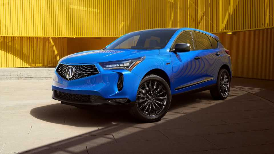 Updated 2022 Acura RDX: Now With More Tech and an MDX Face