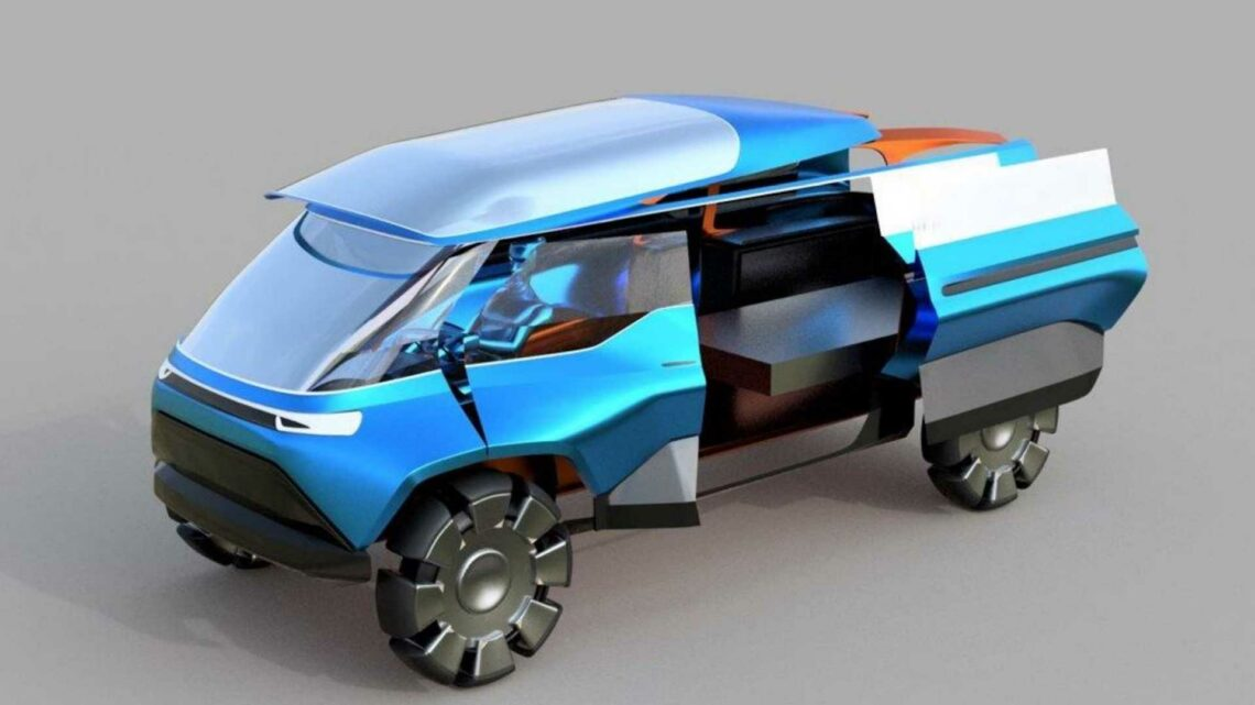 VW And Art Design Students Imagine Future EVs And Mobility
