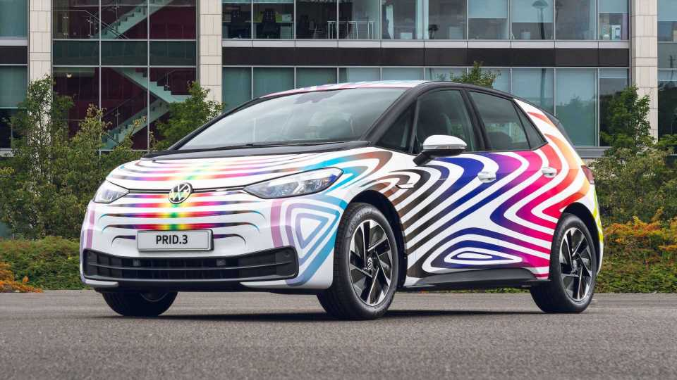 Volkswagen PRID.3 Debuts To Celebrate Diversity And Inclusion