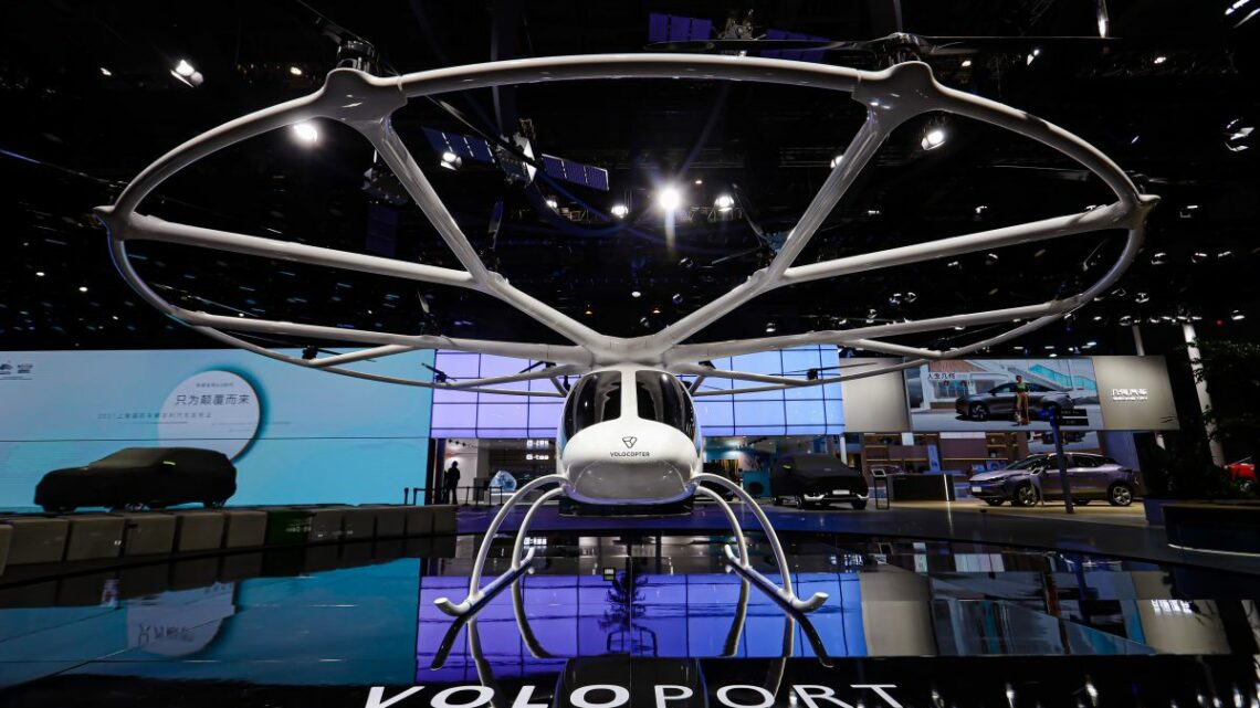 Volocopter Chengdu Technology – air mobility JV formed via Volocopter and Geely subsidiary Aerofugia – paultan.org