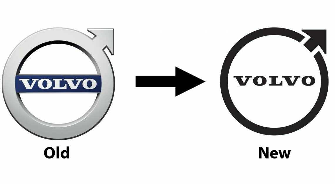 Volvo introduces new Iron Mark logo – simpler and flatter design; to be used on cars from 2023 onwards – paultan.org