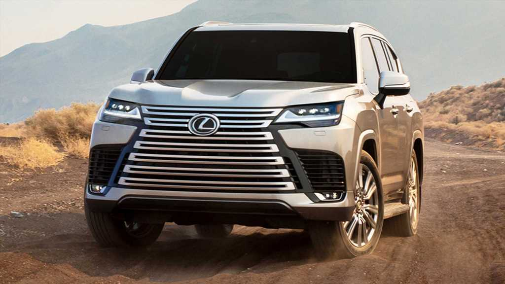 2022 Lexus LX600 First Look: The Fancier Land Cruiser Americans Can Buy